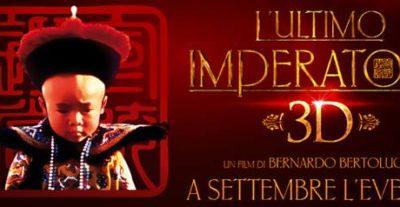 L'ultimo Imperatore 3D: il capolavoro di Bertolucci in 3D, il 10 e 11 settembre