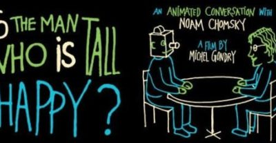 """I Wonder Pictures porta in sala """"Is the Man Who Is Tall Happy?: An Animated Conversation with Noam Chomsky"""""""