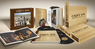 Crosby, Stills, Nash & Young: esce oggi CSNY 1974