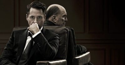 The Judge: clip e character poster