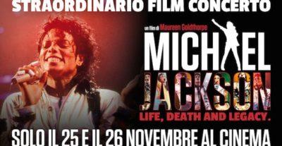 Michael Jackson Life, Death and Legacy: clip e trailer ufficiale del film concerto