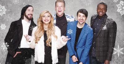 I Pentatonix ci accompagnano in questo Natale 2015 con l'album That's Christmas To Me (Deluxe Edition)