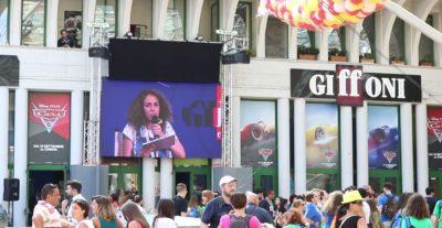 Jasmine Trinca ha inaugurato il Giffoni Film Festival