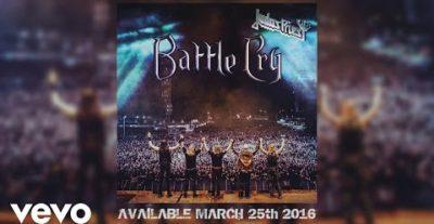 Judas Priest: a marzo un nuovo live intitolato Battle Cry