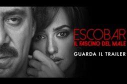 Escobar – Il fascino del male: il trailer ed il poster del film con Javier Bardem