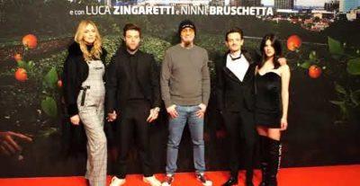 Il Vegetale: indimenticabile red carpet per Fabio Rovazzi