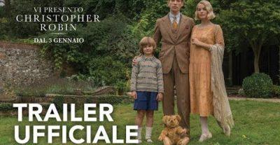Vi presento Christopher Robin, il film che racconta della creazione di Winnie the Pooh arriva al cinema