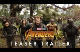 Primo trailer per Avengers: Infinity War