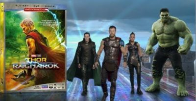 Thor: Ragnarok – Dal 7 Marzo in DVD, Blu-Ray e Blu-Ray 3D con Walt Disney Italia