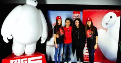 Moreno incontra i fan in occasione della proiezione speciale di Big Hero 6
