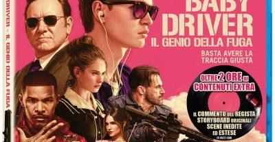 Baby Driver: Il Genio della Fuga – Disponibile in DVD, Blu-Ray e Blu-Ray 4K con Universal Pictures