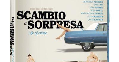 Scambio a Sorpresa, la crime-comedy con Tim Robbins e Jennifer Aniston in Blu-ray per Koch Media