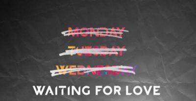 """Avicii torna con il nuovo singolo """"Waiting for Love"""""""