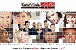 Radio Italia Live – Il Concerto: un cast ricco