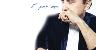 """Roby Facchinetti: da oggi in radio il nuovo singolo """"È per me"""""""
