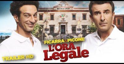 L'Ora Legale: trailer, video backstage e foto del nuovo film di Ficarra e Picone