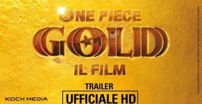 One Piece Gold: Il Film – Ecco il trailer ufficiale