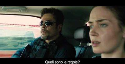 Due featurette e una clip tratta dal film Sicario, da oggi al cinema