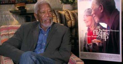 Ruth & Alex: disponibili le due video interviste a Diane Keaton e Morgan Freeman