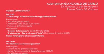 Festival Cinemigrare, il 12 maggio a Catania