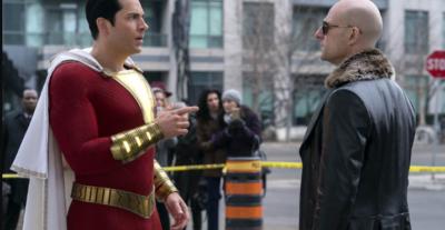 Shazam!, il supereroe ad aprile al cinema