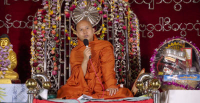 Il Venerabile W., documentario sulla degenerazione del buddismo
