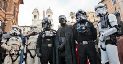 Lo Star Wars Day a piazza di Spagna