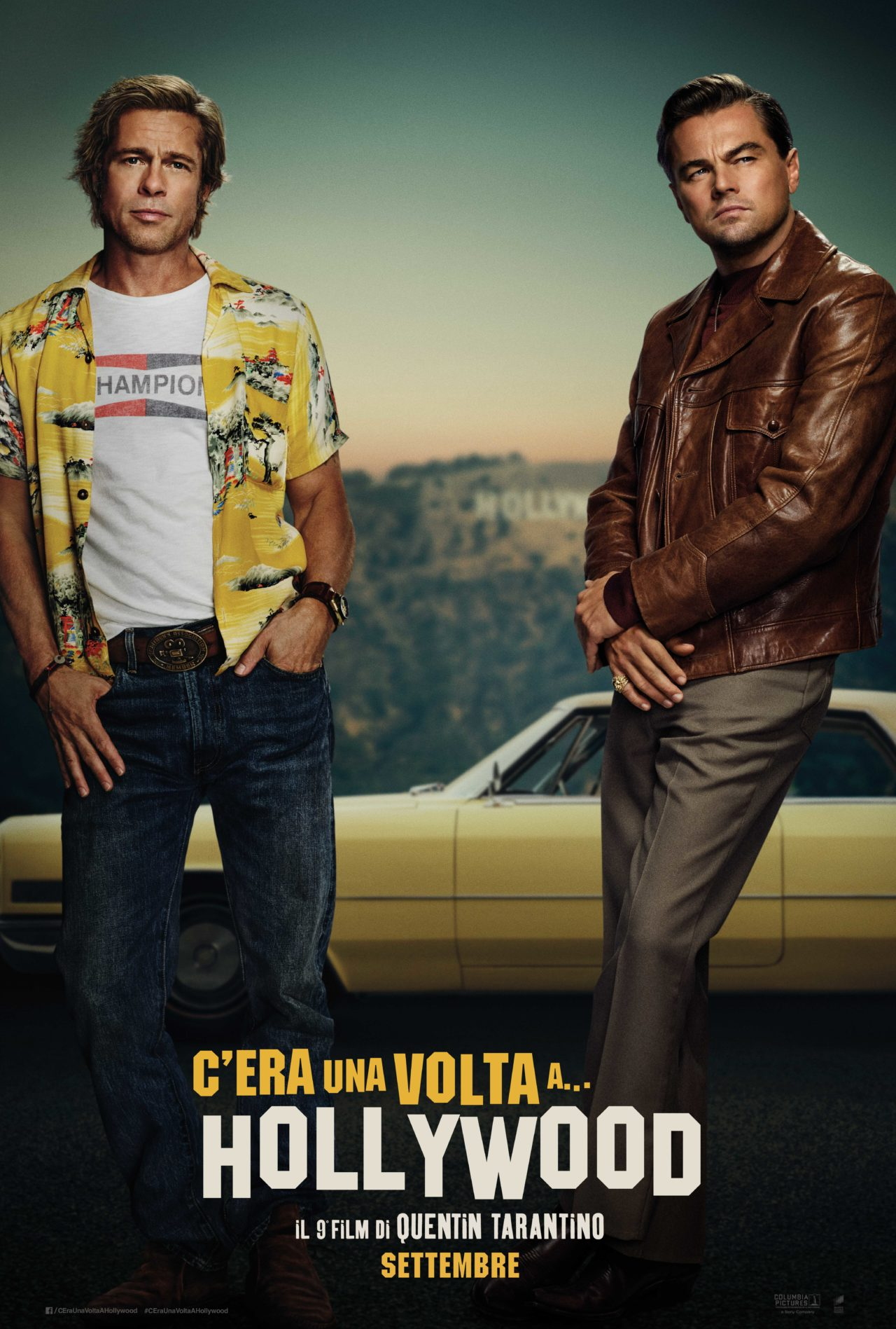 c'era una volta a hollywood poster