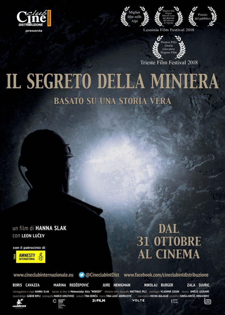il segreto della miniera poster