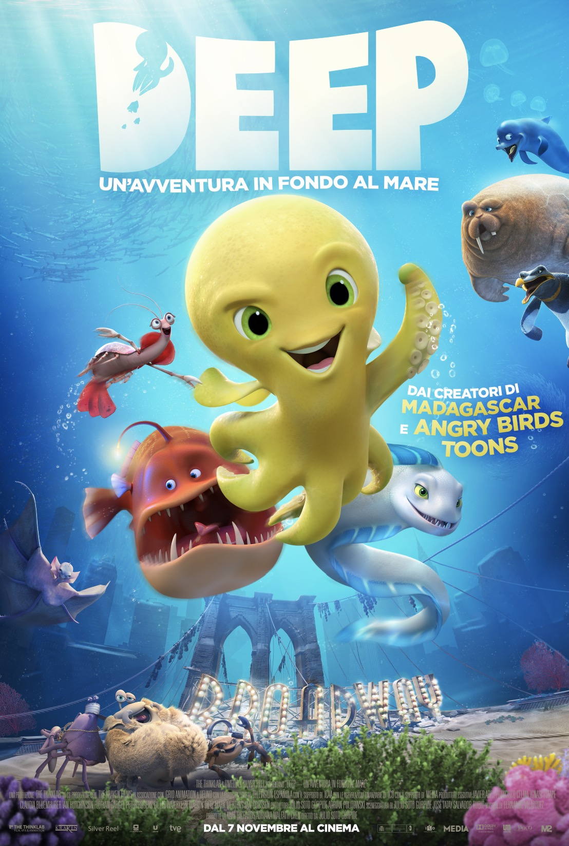 deep un'avventura in fondo al mare poster