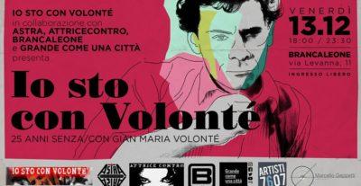 Oggi a Roma serata conclusiva 'Io Sto con Volonté'