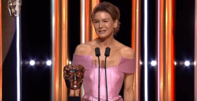 Renée Zellweger vince il premio miglior attrice ai BAFTA 2020