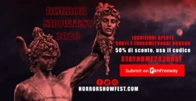 Horror ShowFest dimezza le quote d'iscrizione per l'edizione 2020