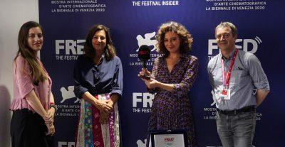 Venezia 77: A Jasmine Trinca il Premio Fred Film RadioInternational Web Radio ufficiale