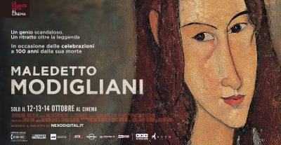 Negli UCI Cinemas arriva Maledetto Modigliani dal 12 al 14 ottobre