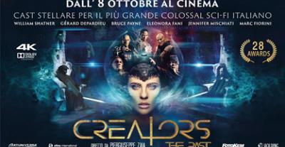 Da oggi arriva in sala CREATORS – THE PAST, lo spettacolare Sci-Fi Italiano