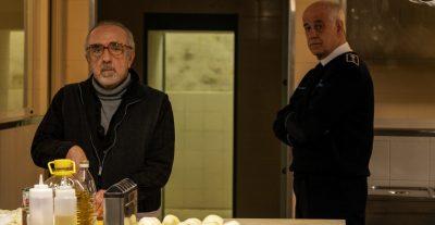 Toni Servillo e Silvio Orlando nel primo scatto dal set del nuovo film di Leonardo di Costanzo