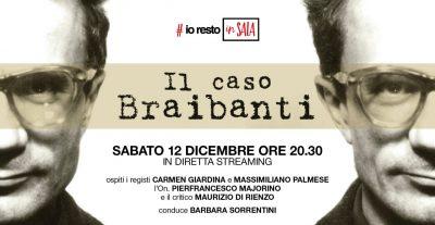 #iorestoinSALA, Sabato 12 dicembre i registi Carmen Giardina e Massimiliano Palmese presentano Il Caso Braibanti