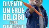 Peter Rabbit insieme a ONU, FAO e United Nations Foundation
