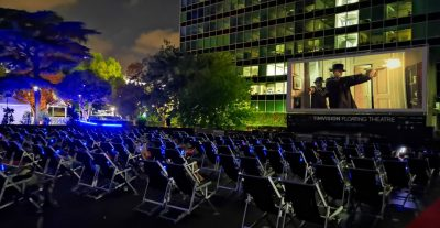 Torna a Roma il Timvision Floating Theatre Summer Fest