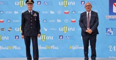 Il Generale Vecciarelli a #Giffoni50plus