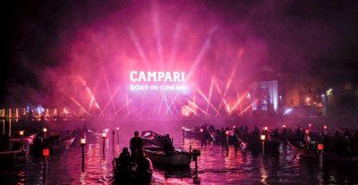 Campari torna alla Mostra del cinema di Venezia