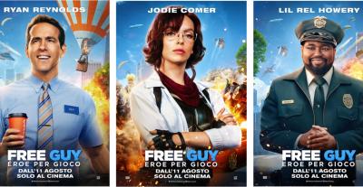 Free Guy – eroe per gioco, dall'11 agosto al cinema