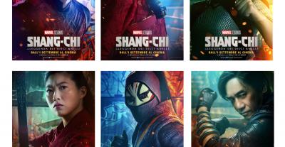 Shang – Chi e la leggenda dei dieci anelli, character poster