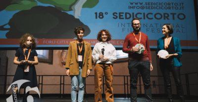 Sedicicorto2021, Tutti i premi di Cortoinloco